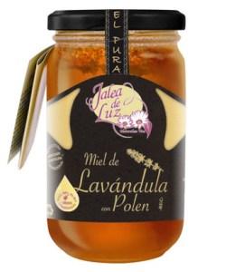 Miel de Lavanda con Polen natural 500 gr