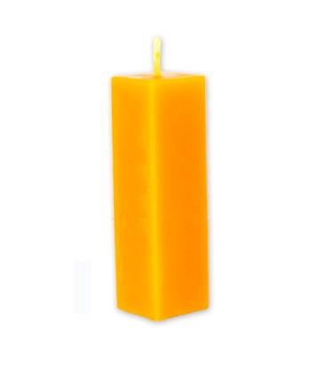 Vela rectangular compacta 25 cm Cera pura virgen