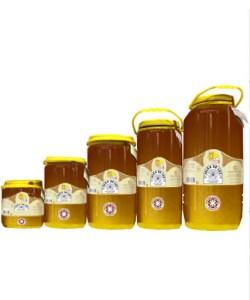 Miel cruda de Madroño en garrafa