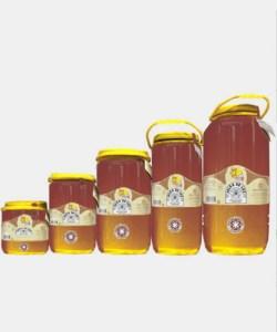 Miel cruda de Castaño en garrafa
