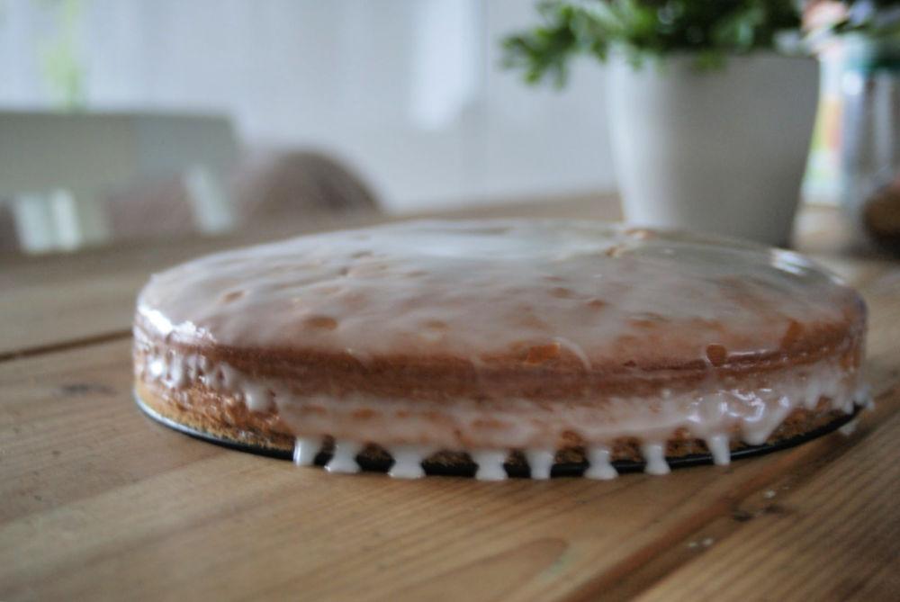 Gâteau à la bière ambrée