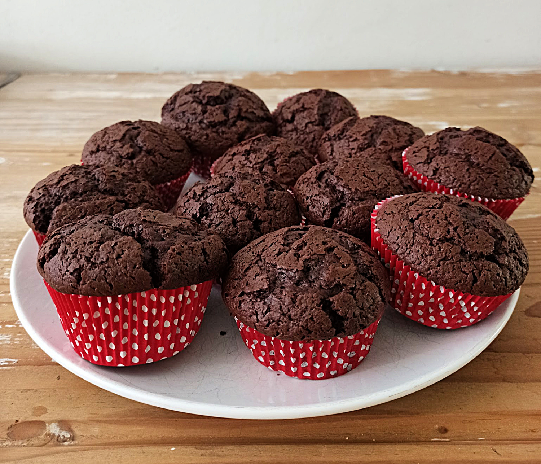 Lekere Schokoladenmuffins