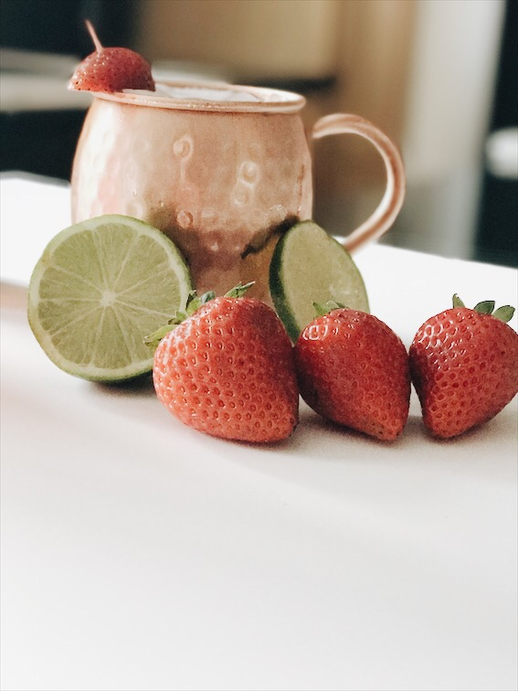 Strawberry Moscow Mule 2