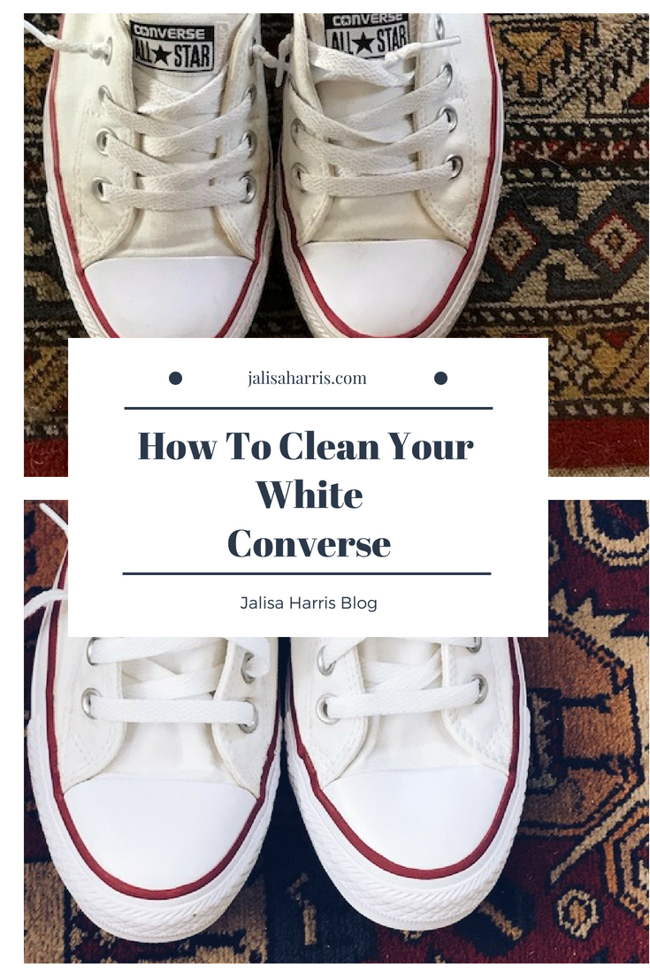 e0b31c898ed3 Cleaning your white Converse Pin this image on Pinterest