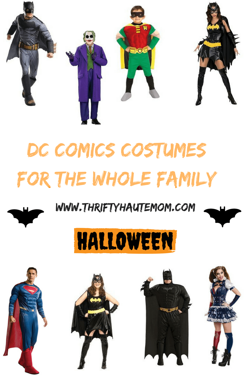 dc comics costumes