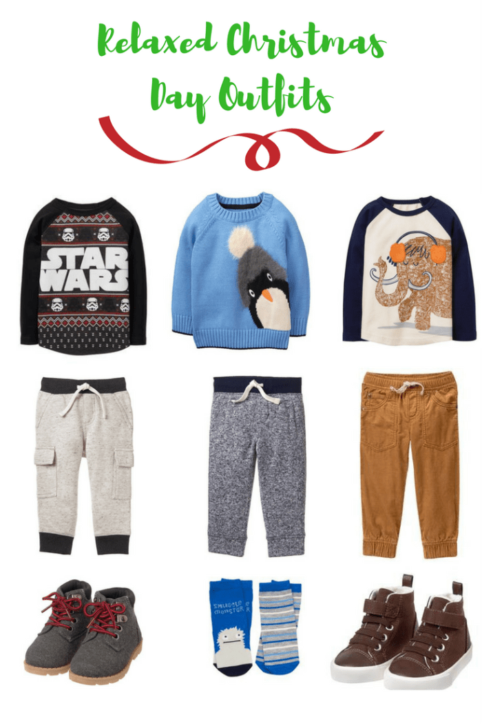 Relaxed Christmas Day Outfits For That Little Boy