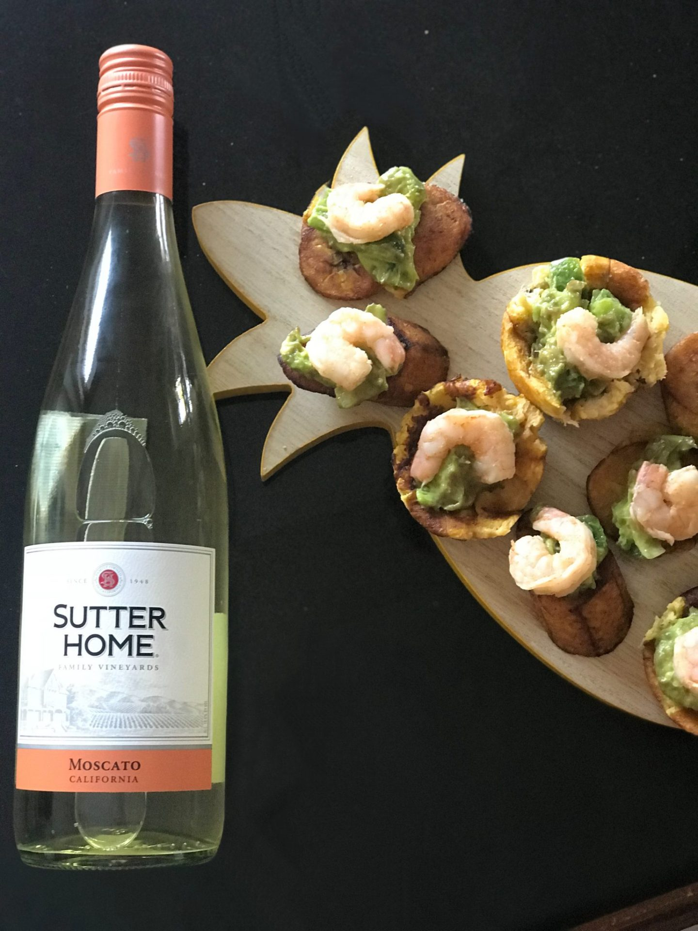 Spicy Sutter Home WIne Plantains