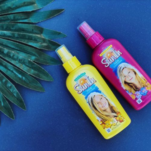 SunIn Lighten Spray Flat lay