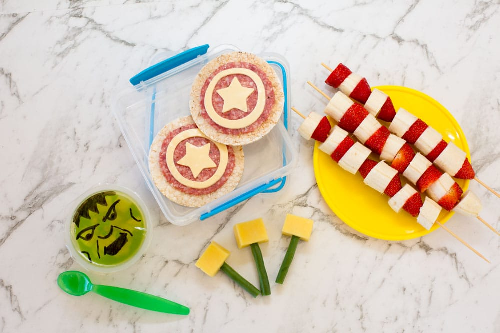 Ideal Avengers Lunch