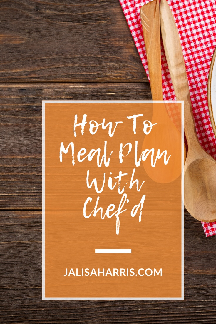 Chef'd Meal Planning Pin