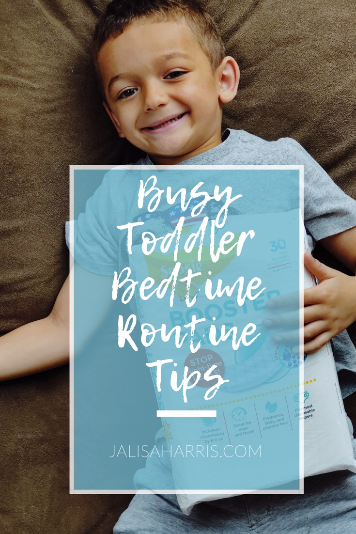 busy toddler bedtime routine tips