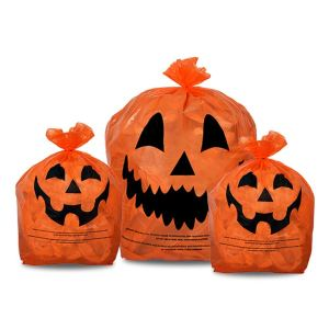 Halloween Favorites Jack O Lantern Trash Bags