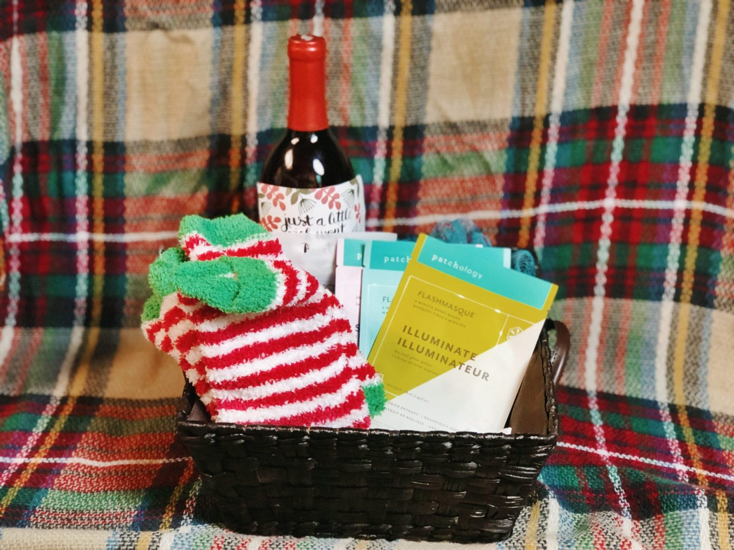 DIY Facial Spa Basket- The Perfect Handmade Gift