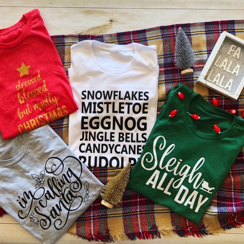 Holiday Comfy Tees