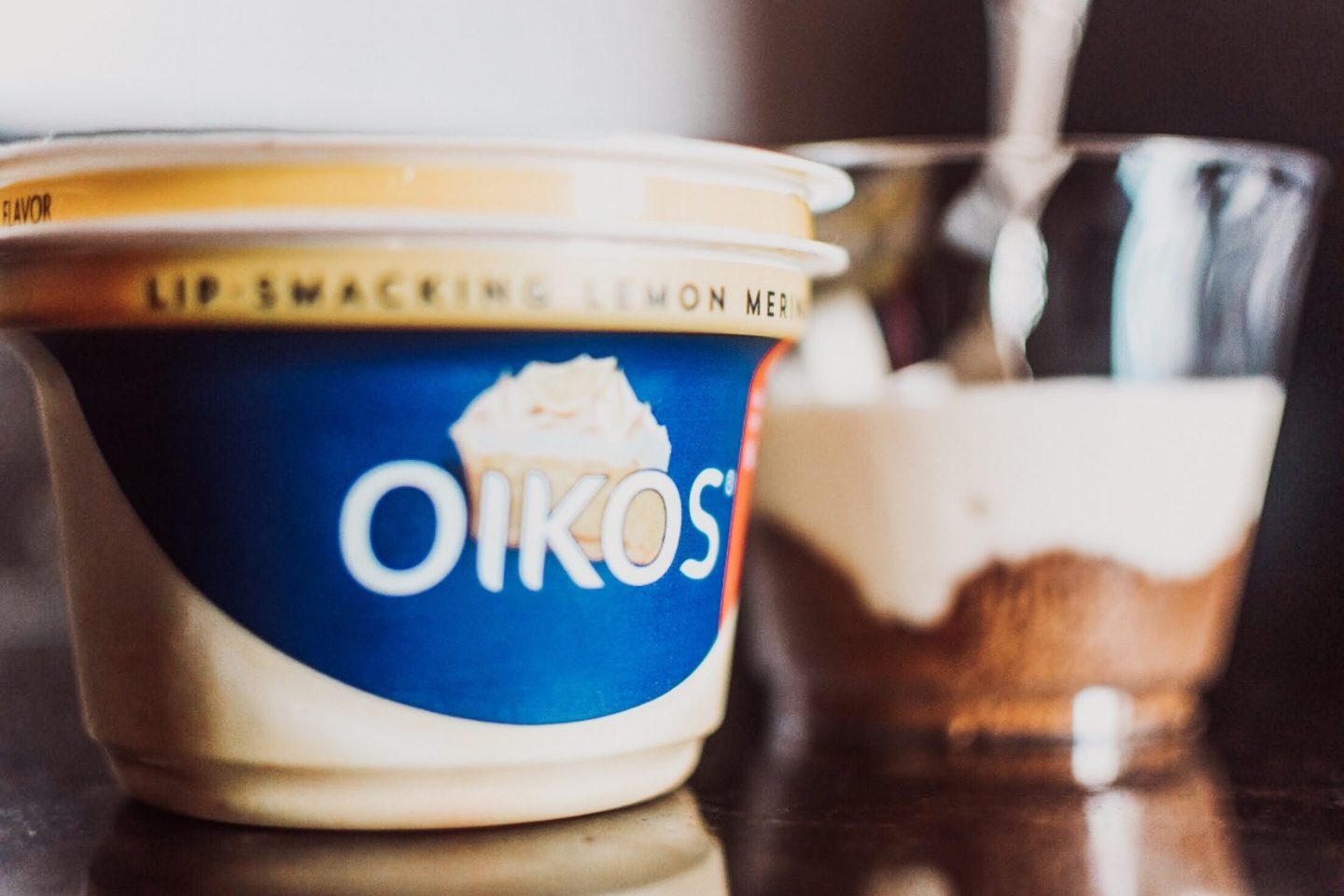 Oikos Lemon Cheesecake
