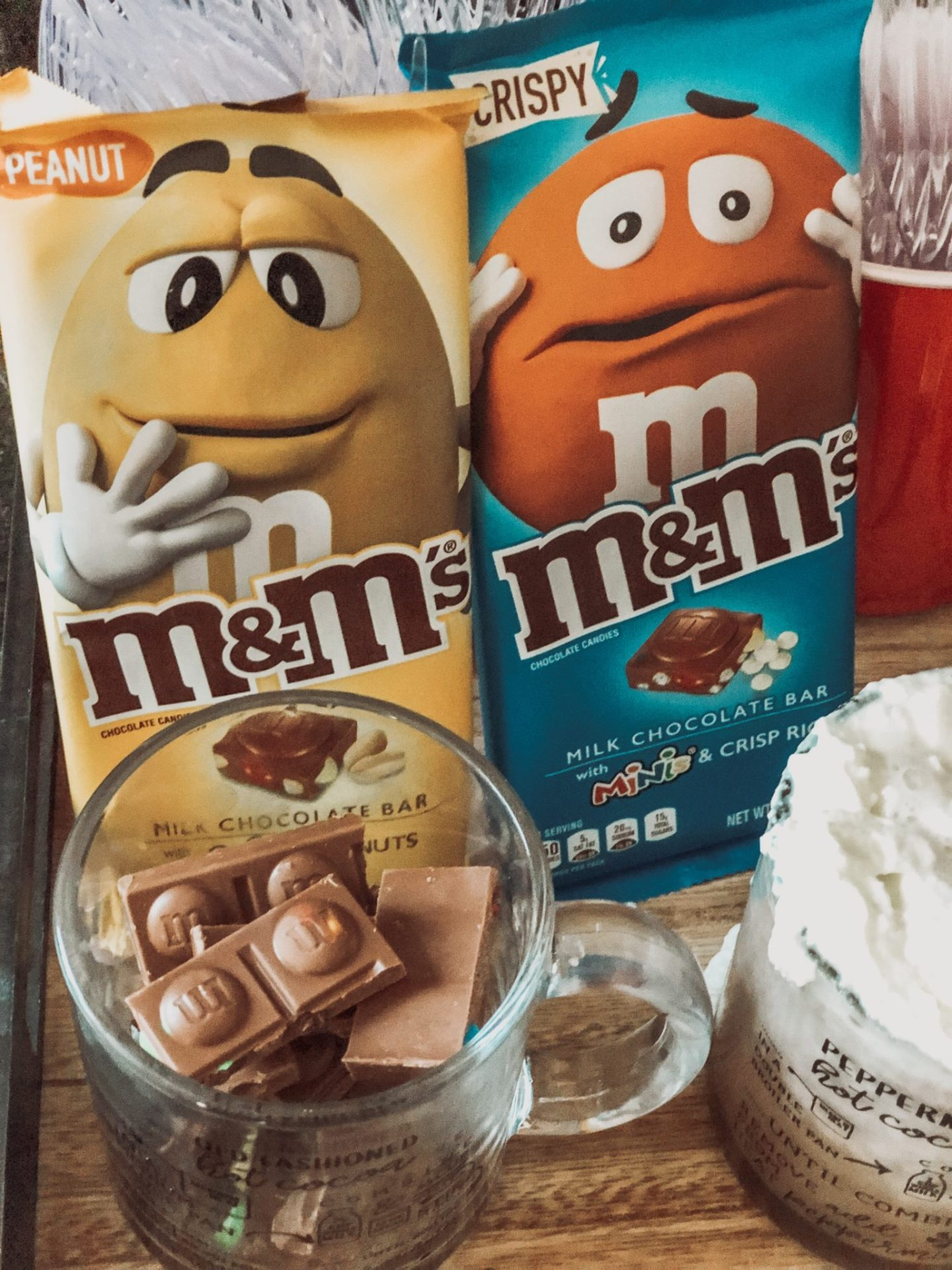 Hot Cocoa M&M Bar