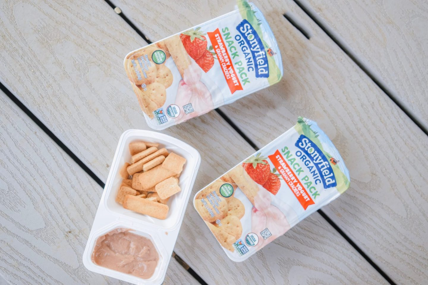 Active Stonyfield Spring Flatlay