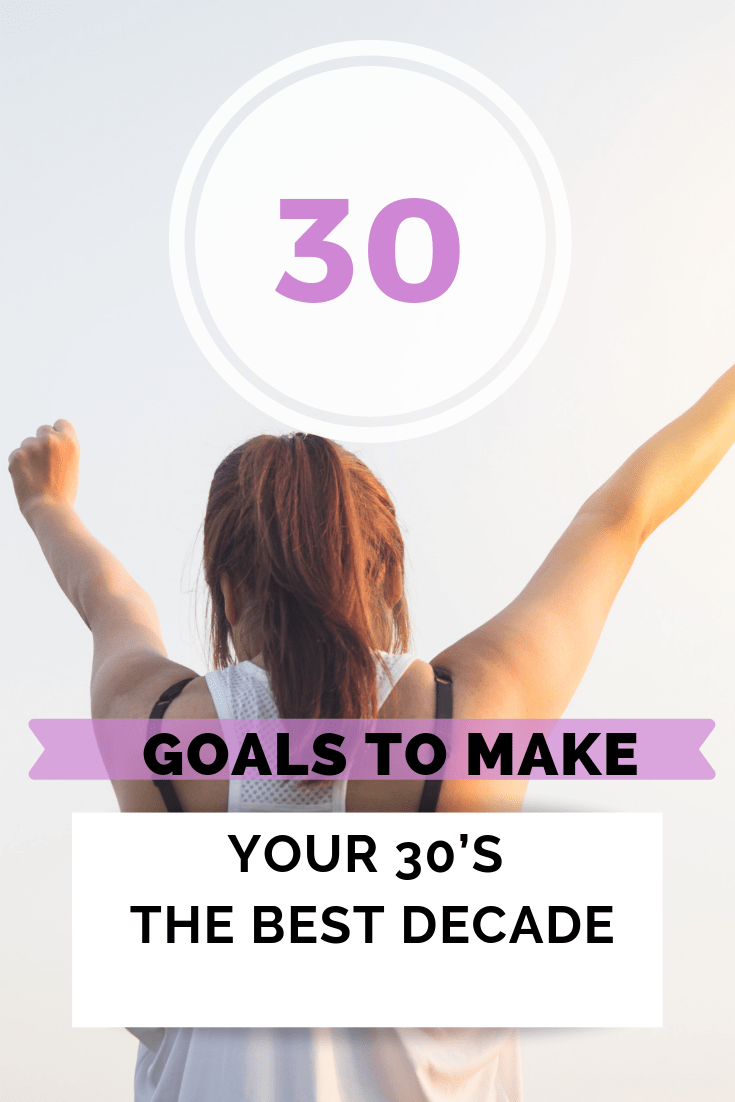 30 personal goals I want to accomplish now (It's my birthday) pin
