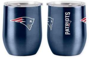 NFL Stainless Steel Curved Ultra Tumbler Wine Glass