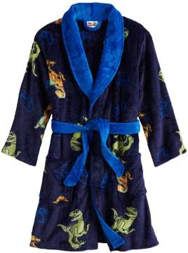 Boys plush robe