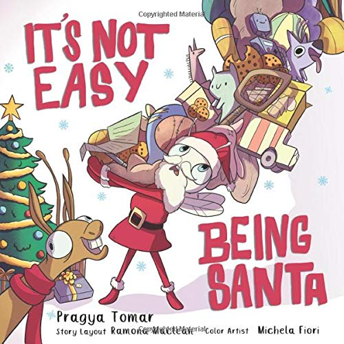 It's not easy being Santa book