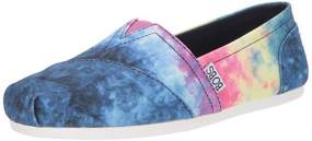 Tie Dye Slip On Sketcher Sneakers