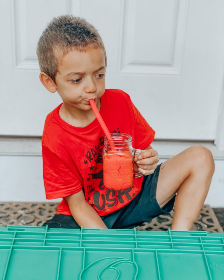 Fruit Punch Slushie In 3 Minutes