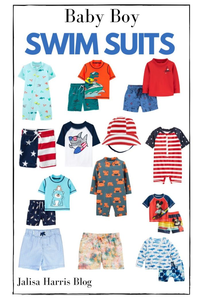 Cute swimsuits for baby boys