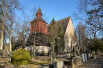 Pyhän Laurin keskiaikainen kirkko, Lohja.