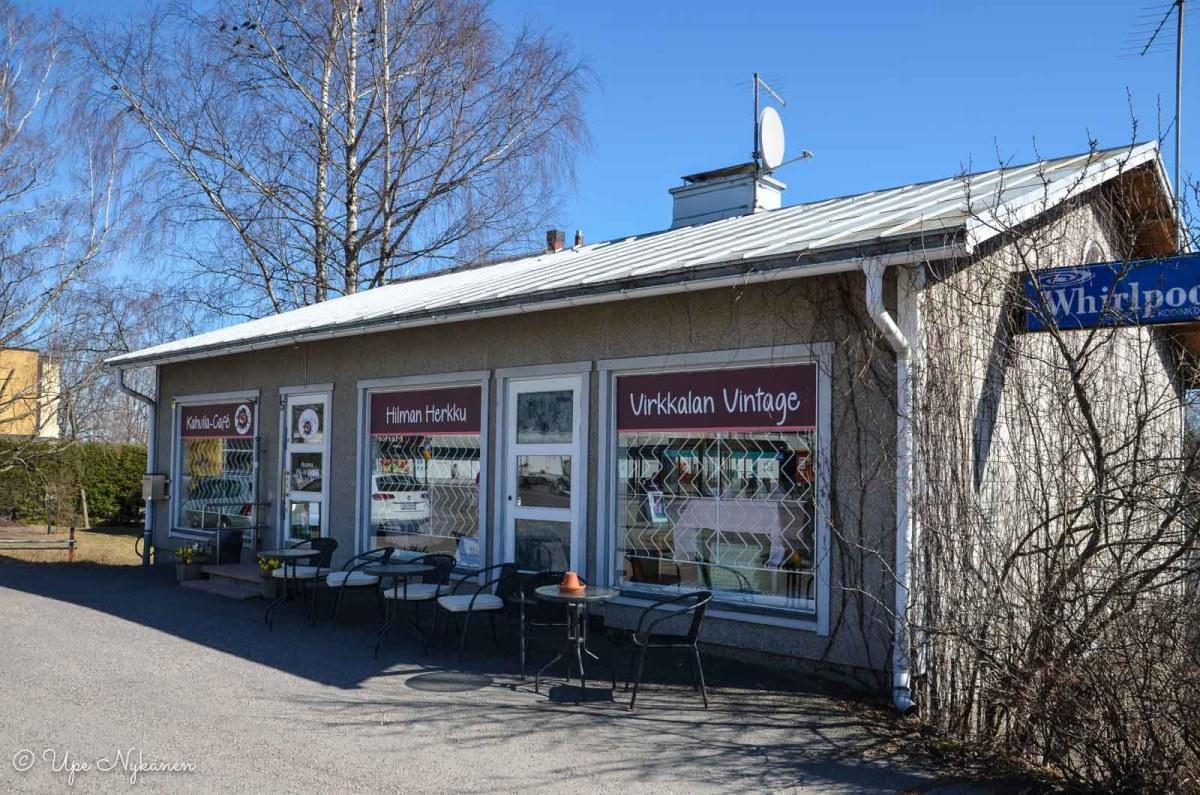 Hilman Herkku-kahvila Virkkalassa, Lohja.