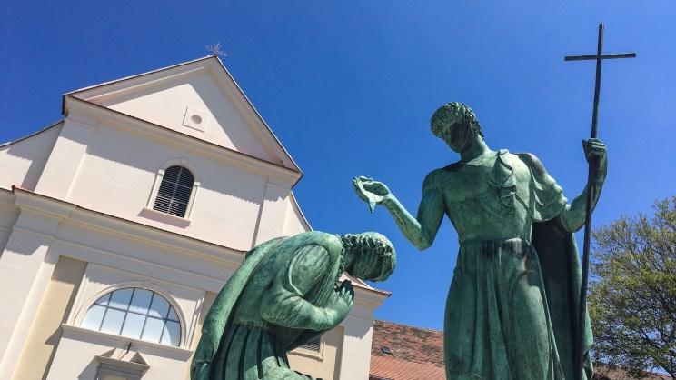 Pyhän Martin patsas