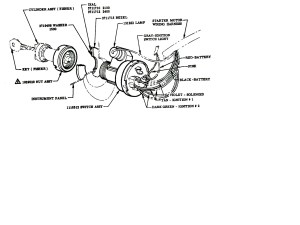 Technical  Ignition switch wiring diagram 19552 Chevy