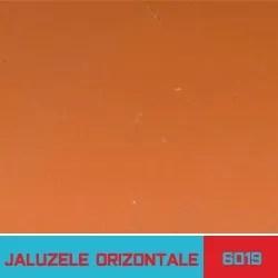 Jaluzele orizontale orange - Jaluzele Bucuresti