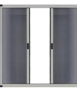 Plasă țânțari plisse pentru uși in 2 canate - Jaluzele Bucuresti
