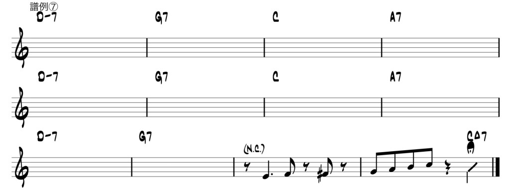 sample score 7 of requirements-for-chord-instruments-players-to-join-a-session