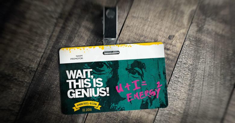 ID Einstein - De kaarten werden gebruikt door de promotors