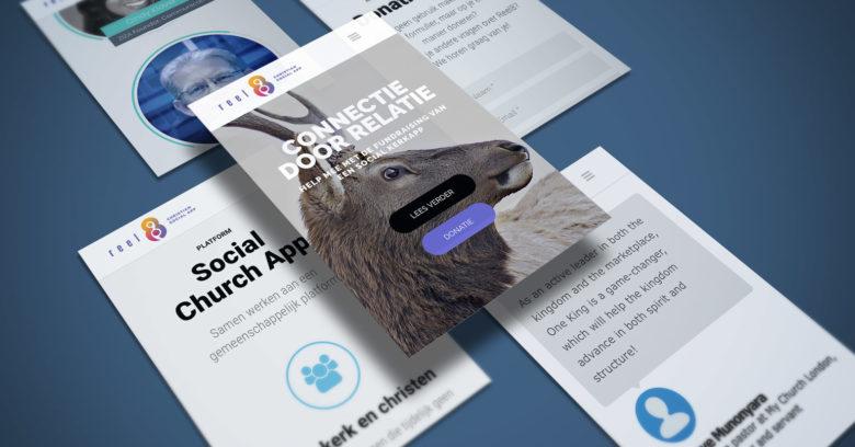 Mobile Campaign Website