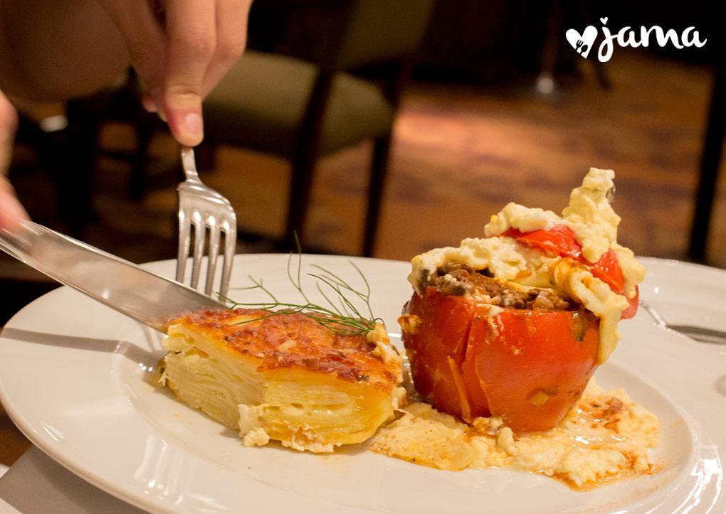 Arequipa 6: Visitando el restaurante Los Robles del Hotel Libertador