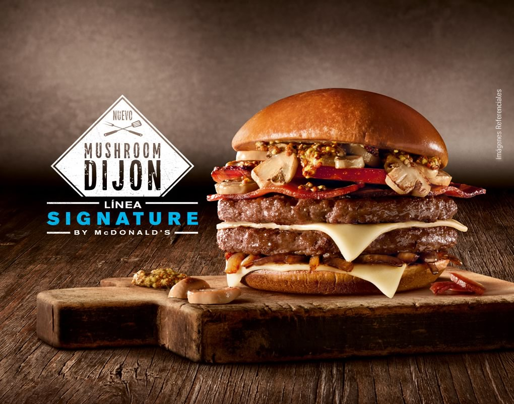 Sorteo: Prueba la nueva hamburguesa Mushroom Dijon de McDonald's