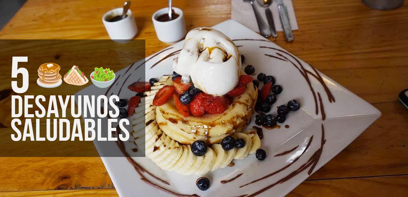 5 lugares para desayunar saludablemente