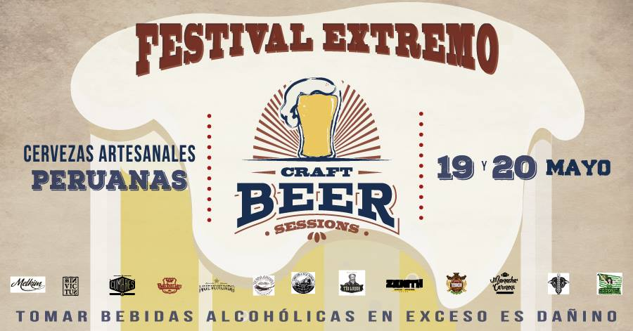 Barranco: CRAFT BEER SESSIONS 2017 ¡Festival Extremo!