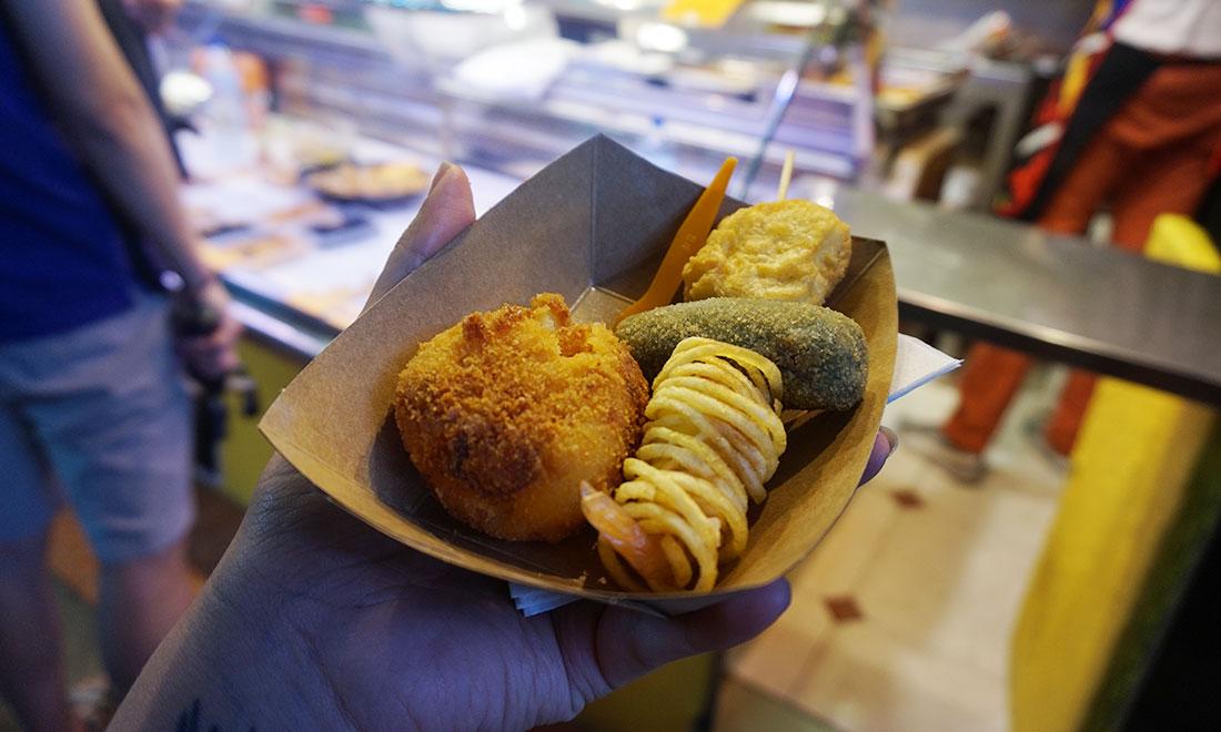 croquetas españolas ¿Qué comer en Barcelona?