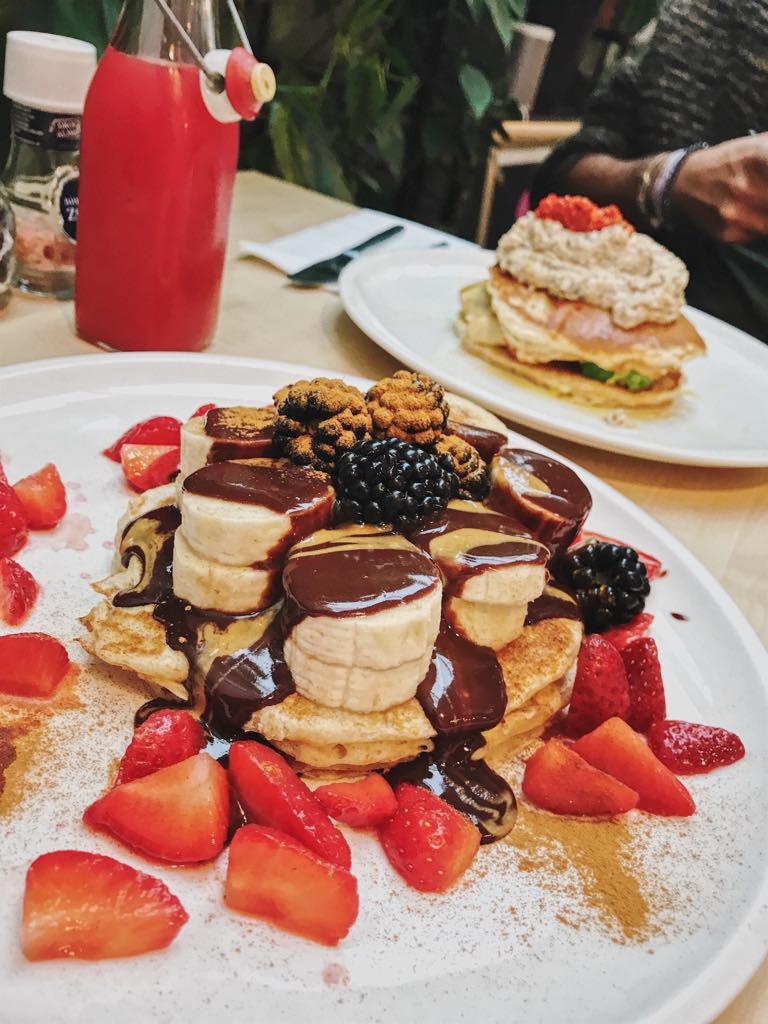 Amsterdam: Desayunando en Mook Pancakes
