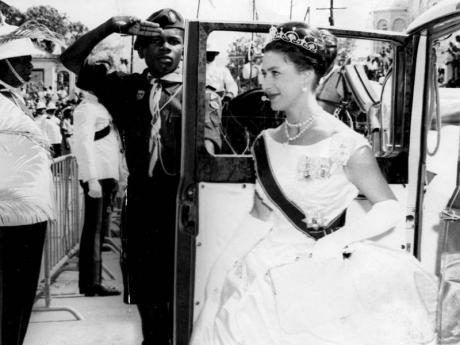 Princess Margaret attends the opening of the Parliament in Jamaica, 1962.