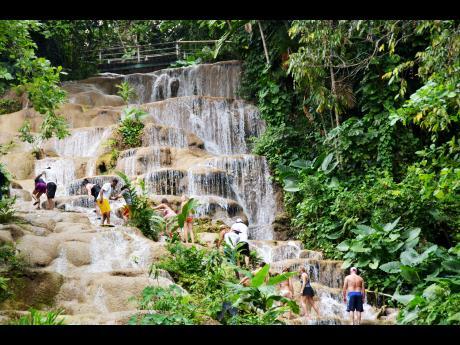Natures Paradise At Konoko Falls News Jamaica Gleaner