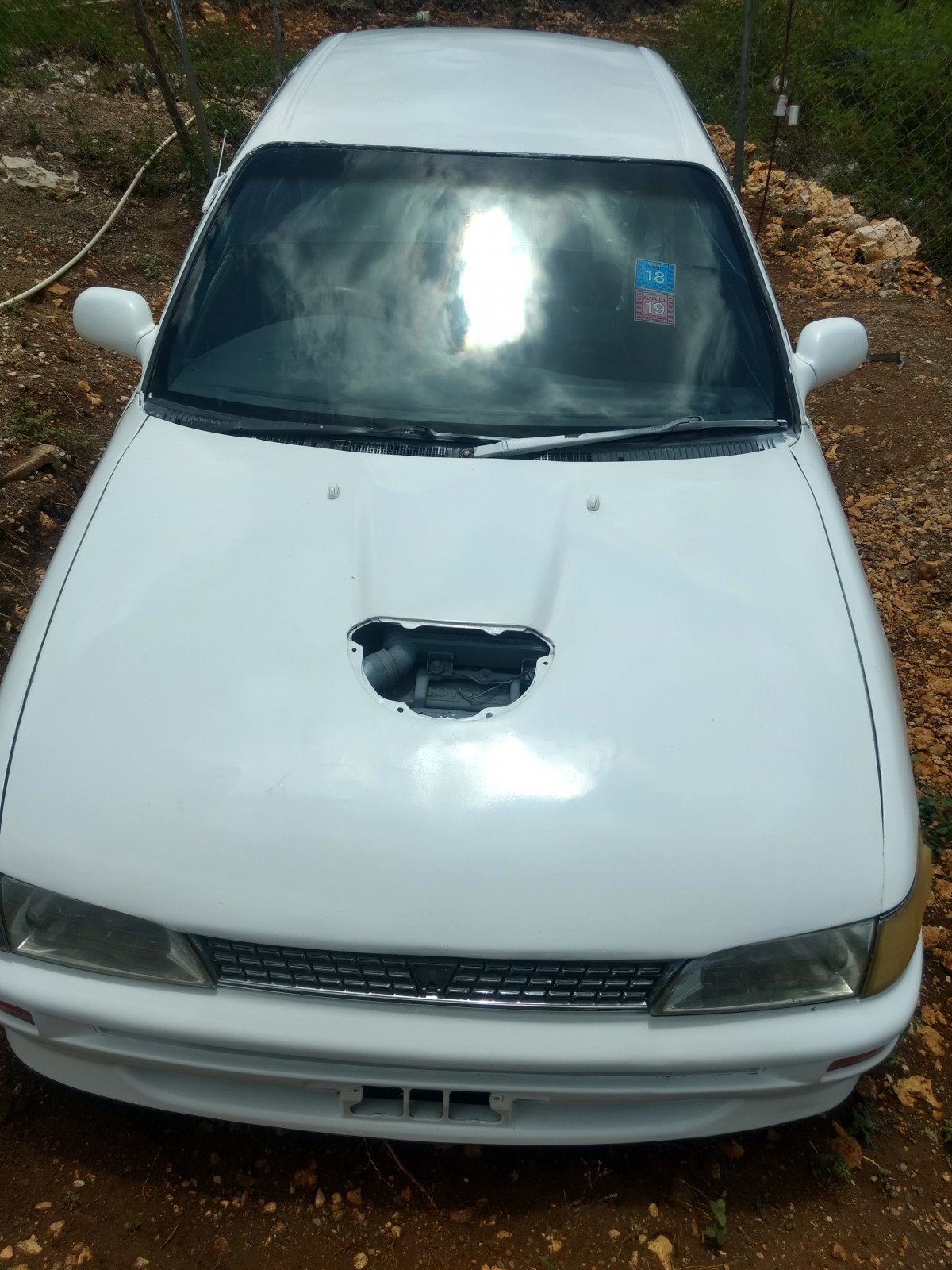 Toyota Corolla Police Shape Turbo Car For Sale In Spanish