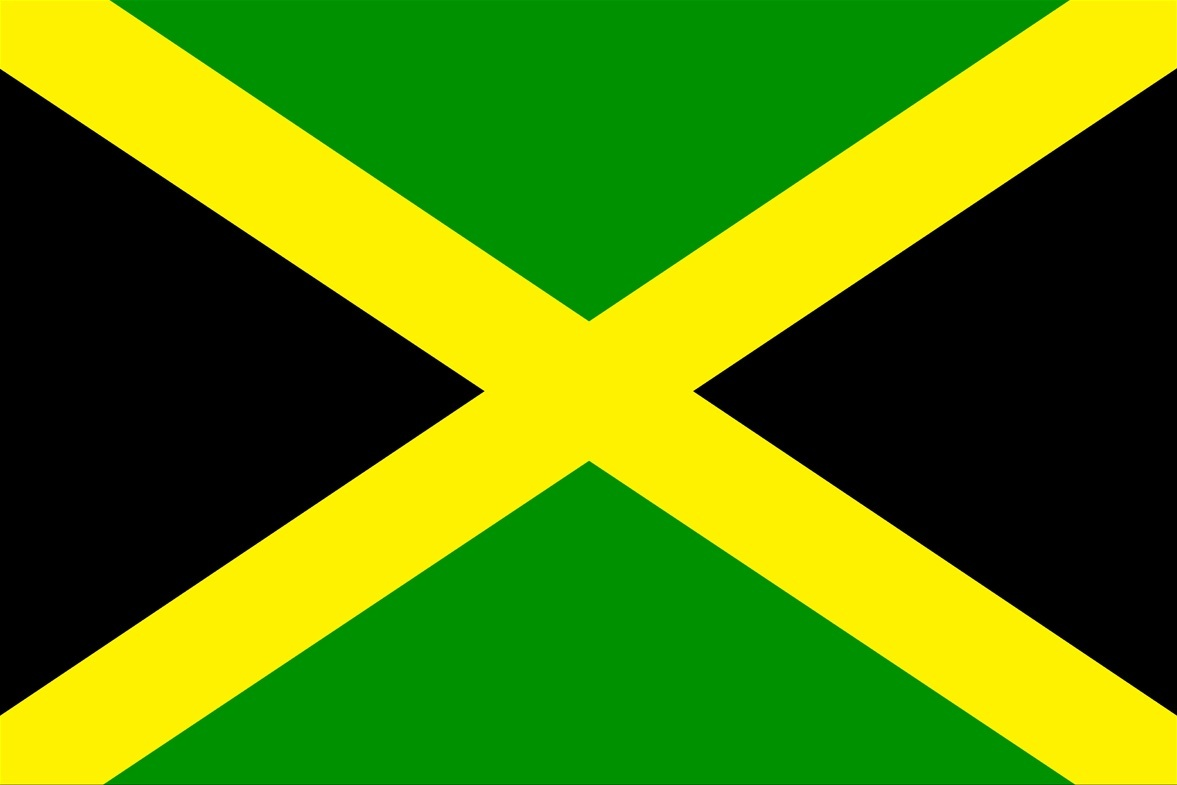 jamaica flag colors for pinterest