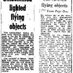 It's a Bird! It's a Plane! It's a … UFO?