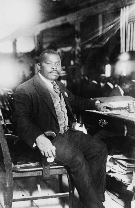 The Rt. Excellent Marcus Mosiah Garvey, Jamaica's first National Hero (August 17, 1887 - June 10, 1940).