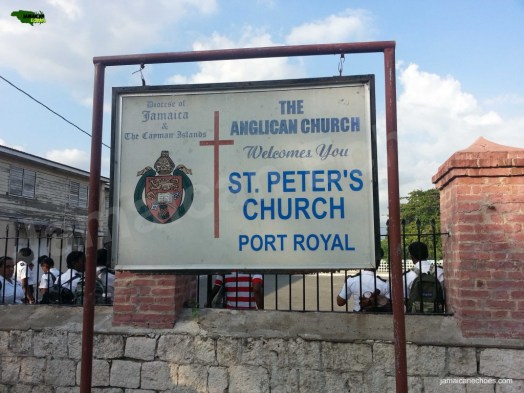 Figure 8: St Peter's Church sign. (Click to enlarge.)